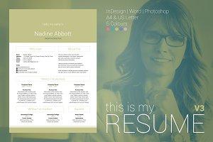 My Resume V3
