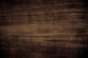 Dark brown wooden texture.