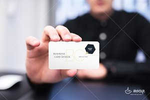 Business Card PSD Mockup BC