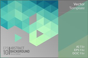 Polygon Vector Geometric Background