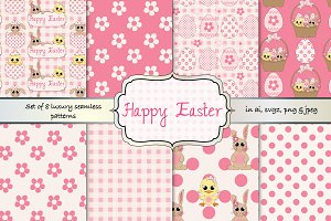 Cute Easter pattern set