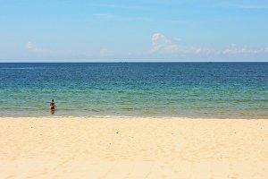 The sea, the beach and the sky - 2