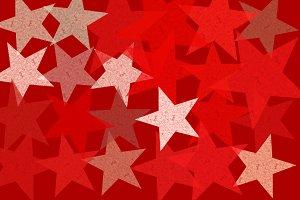 Stars Grunge Pattern