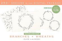 Branches, Wreaths & Laurels - Bundle