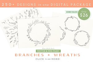 Branches, Wreaths & Laurels - Bundle