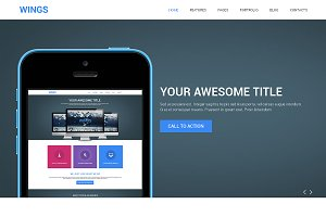 Wings Bootstrap Responsive Theme
