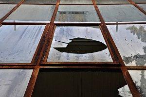 Broken Rusty Windows