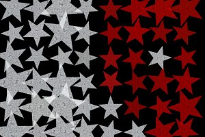 Star Shape Background Pattern