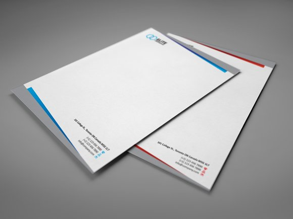 Letterhead 2 with DOCX in Stationery Templates - product preview 1