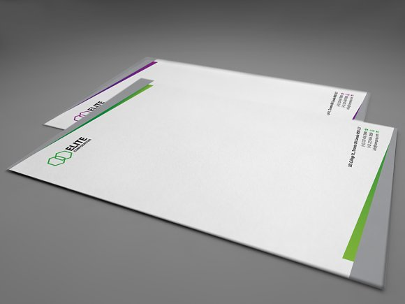 Letterhead 2 with DOCX in Stationery Templates - product preview 2