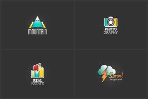 4 Advanced Logo Templates Bundle 1