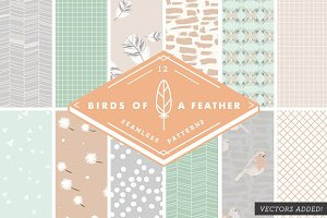 Birds of a Feather - Patterns