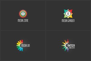 4 Advanced Logo Templates Bundle 2