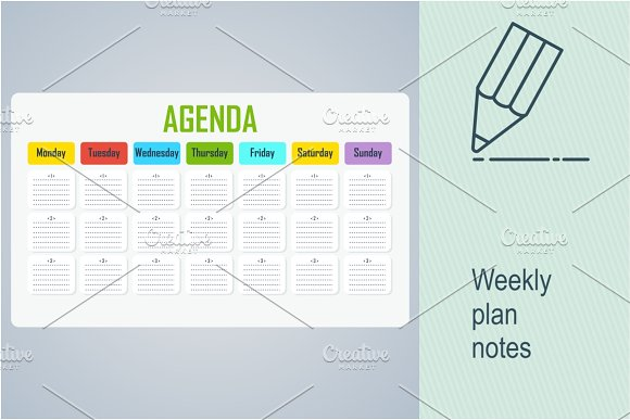 Weekly Plan Notes