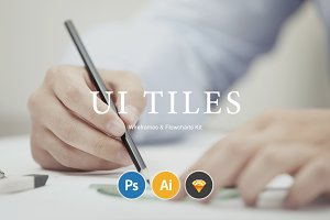 UI Tiles: Website Flowcharts