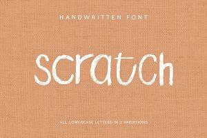 Scratch Handwritten Font