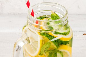 Infused refreshing water