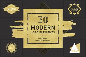 Modern logo elements + BONUS