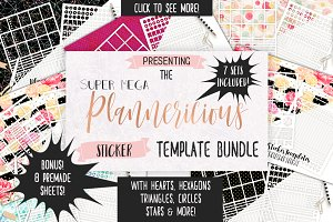 Planner Sticker Template Big Bundle