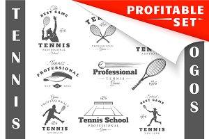 16 Tennis Logos Templates