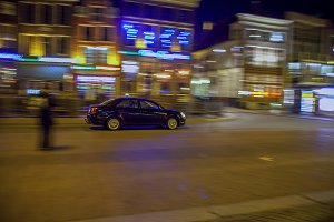 Taxi in the night