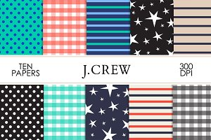 J. CREW Inspired Digital Paper