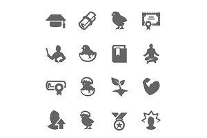 Personal Development Icons