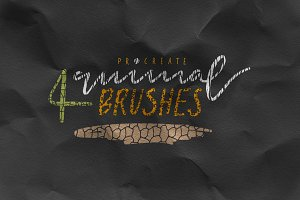 Procreate Brushes Animal Skin