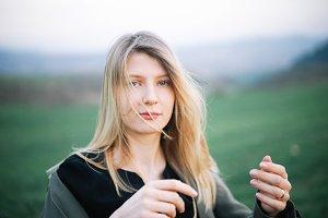 woman film portrait