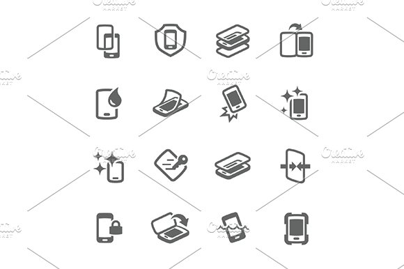Simple Smart Cover Icons in Icons