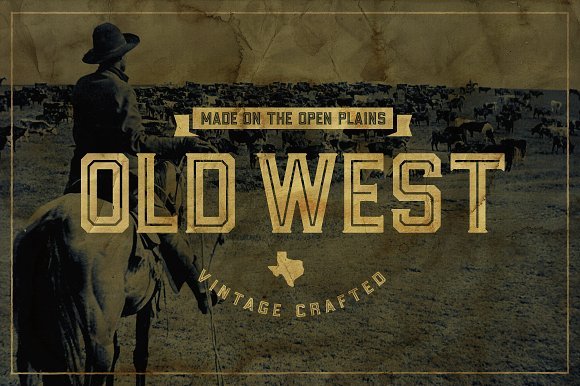 Goliad Font - 5 Styles ~ Display Fonts ~ Creative Market