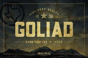 Goliad Font - 5 Styles