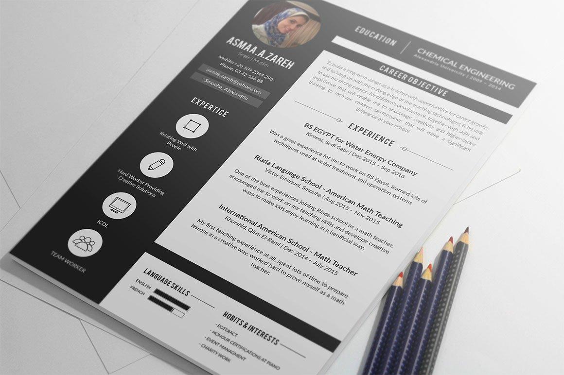 Alex Resume ~ Resume Templates ~ Creative Market