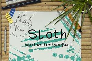 Sloth - Font No.1