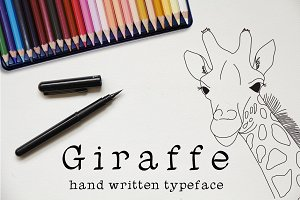 Giraffe - Font No.2