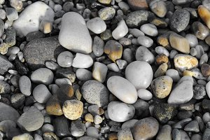 River or beach stones background