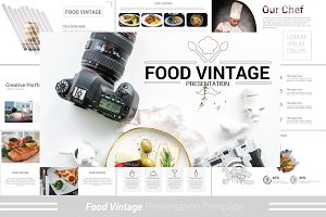 Food Vintage Powerpoint Template