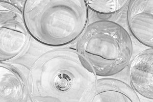 Glassware Abstract