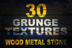30 super grunge textures