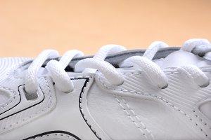 Tennis Shoe Closeup