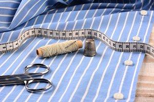 Tailoring a Mens Dress Shirt