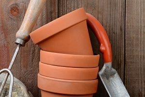 Garden Tools Stilll Life