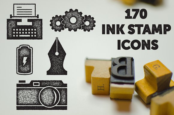 Ink Stamp Icons