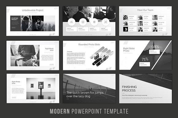 Modern powerpoint template presentation templates creative market toneelgroepblik Image collections