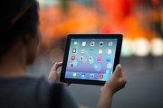 iPad Template, Fire Lights (S)