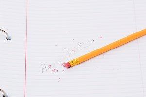 Erasing Homework