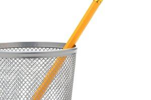 Pencil in Pencil Cup