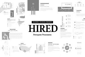 Hired | Powerpoint Presentation