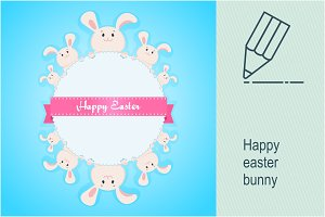 Happy easter_bunny_card