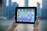 iPad Template, Cityscape (L)